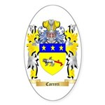 Carreri Sticker (Oval 50 pk)