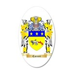 Carreri 20x12 Oval Wall Decal