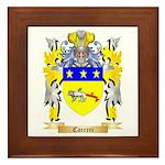 Carreri Framed Tile