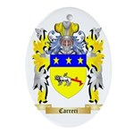 Carreri Ornament (Oval)