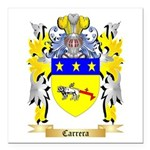 Carrera Square Car Magnet 3