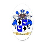 Carreon Oval Car Magnet