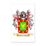 Carreno Rectangle Car Magnet