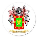 Carreno Round Car Magnet