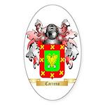 Carreno Sticker (Oval 10 pk)