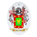 Carreno Ornament (Oval)