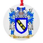 Carrell Round Ornament