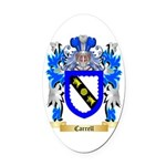 Carrell Oval Car Magnet