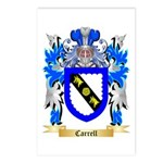Carrell Postcards (Package of 8)
