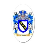 Carrell 20x12 Oval Wall Decal