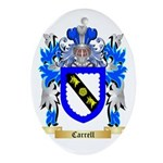 Carrell Ornament (Oval)