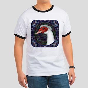 Muscovy Duck Head Decorative T-Shirt