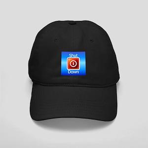 Shut Down Black Cap