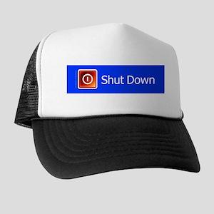 Shut Down Trucker Hat