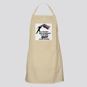 Unions If You Don't Want To Participate Apron