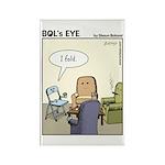 Bol's Eye Funny Poker/gambling Magnets