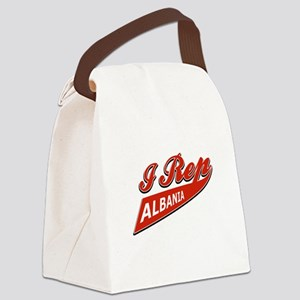 I rep Albania Canvas Lunch Bag