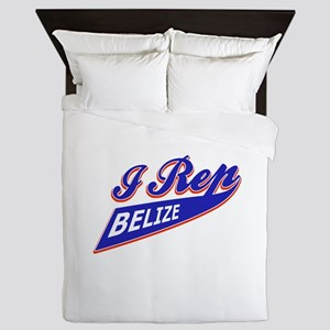 I rep Belize Queen Duvet
