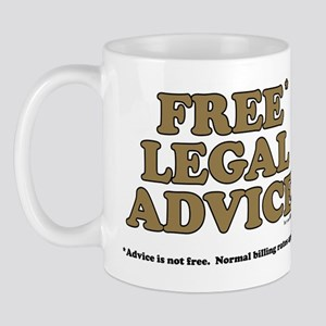 Free Legal Advice (2) Mug