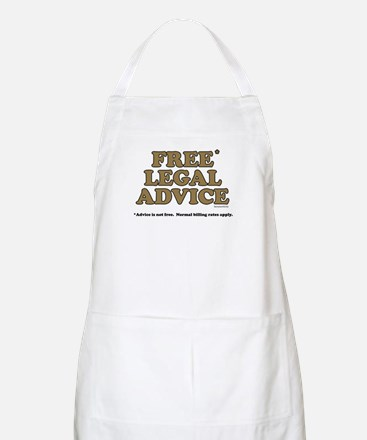 Free Legal Advice (2) BBQ Apron