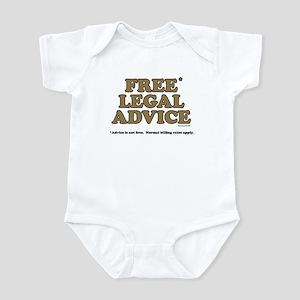 Free Legal Advice (2) Infant Bodysuit