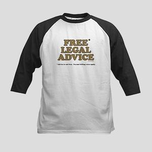 Free Legal Advice (2) Kids Baseball Jersey