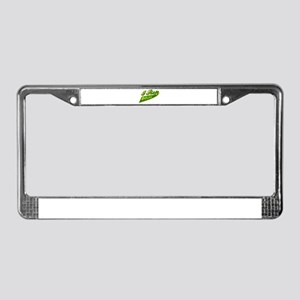 I rep Bolivia License Plate Frame