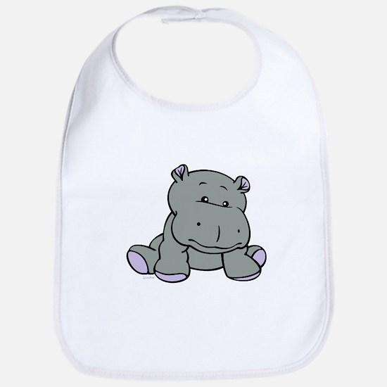 Hippo Baby Bib