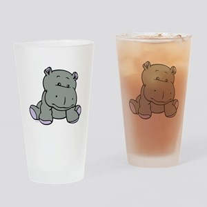 Hippo Baby Drinking Glass