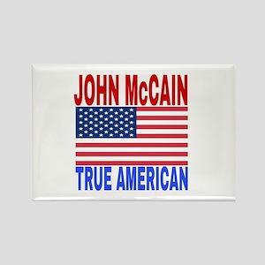 JOHN McCAIN TRUE AMERICAN Magnets
