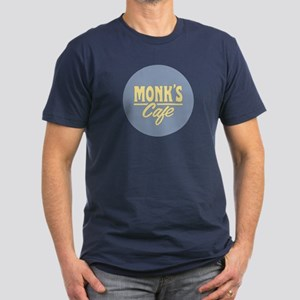 Monk's Cafe Men's Fitted T-Shirt (dark)
