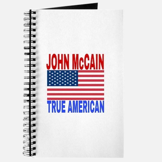 JOHN McCAIN TRUE AMERICAN Journal