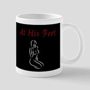 At His Feet - BDSM Design Mug