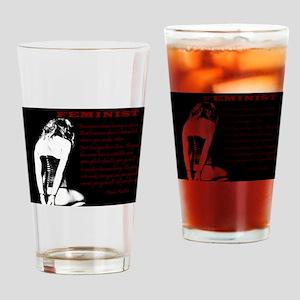 Submissive Feminism - BDSM Design Drinking Glass