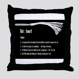 Sir by Definition - Male Dominant Design Throw Pil