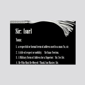 Sir by Definition - Male Dominant Design Rectangle
