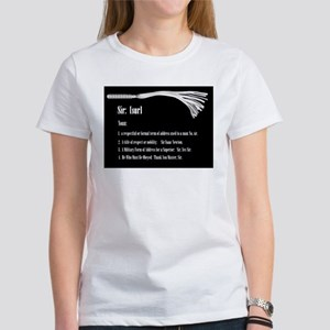 Sir by Definition - Male Dominant Design Women's T