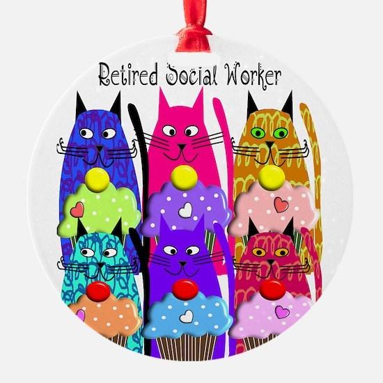 retired social worker 1 Ornament