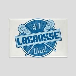 # Lacrosse Dad Rectangle Magnet