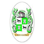 Carrasquillo Sticker (Oval 10 pk)