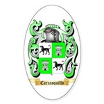Carrasquillo Sticker (Oval 50 pk)