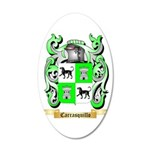 Carrasquillo 20x12 Oval Wall Decal