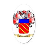 Carrasquilla Oval Car Magnet