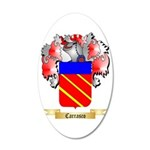 Carrasco 35x21 Oval Wall Decal