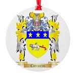 Carrarini Round Ornament