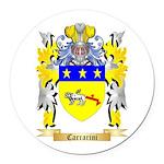 Carrarini Round Car Magnet