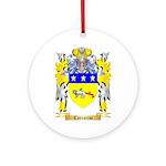 Carrarini Ornament (Round)