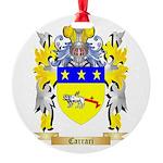 Carrari Round Ornament