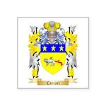 Carrari Square Sticker 3