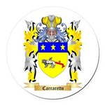 Carraretto Round Car Magnet